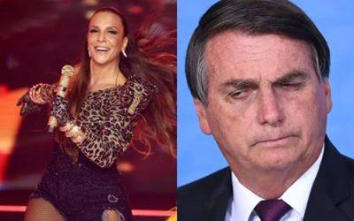 Ivete Sangalo manda indireta pra Bolsonaro