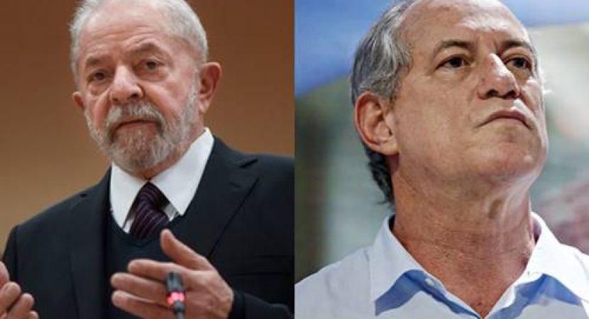 Lula manda recado para Ciro Gomes
