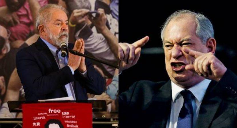Ciro Gomes chama Lula de mentiroso