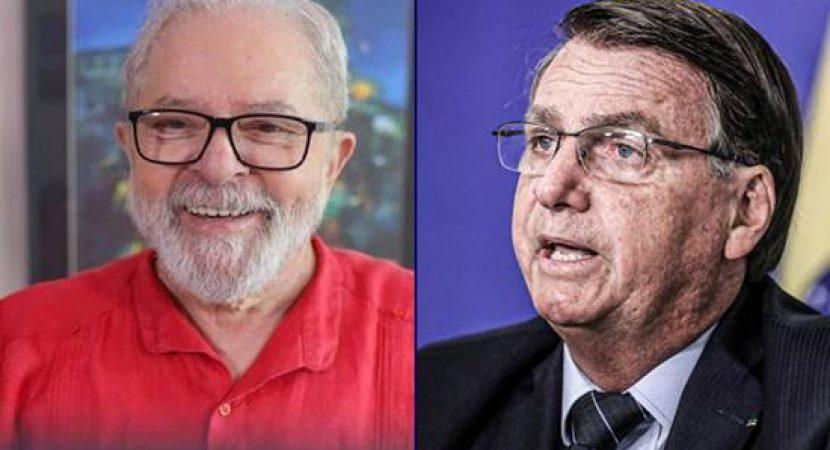 Lula tem mais potencial de votos para 2022 que Bolsonaro