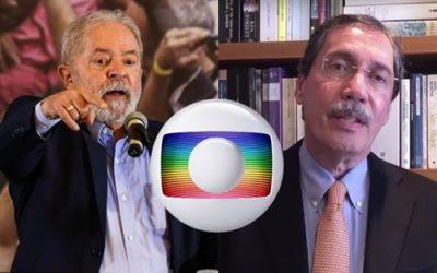 Lula manda recado para Jornalista da Globo