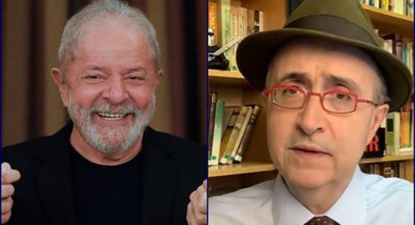 Reinaldo Azevedo entrevista Lula