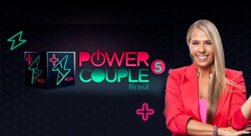 Power Couple Brasil pontua com baixa audiência