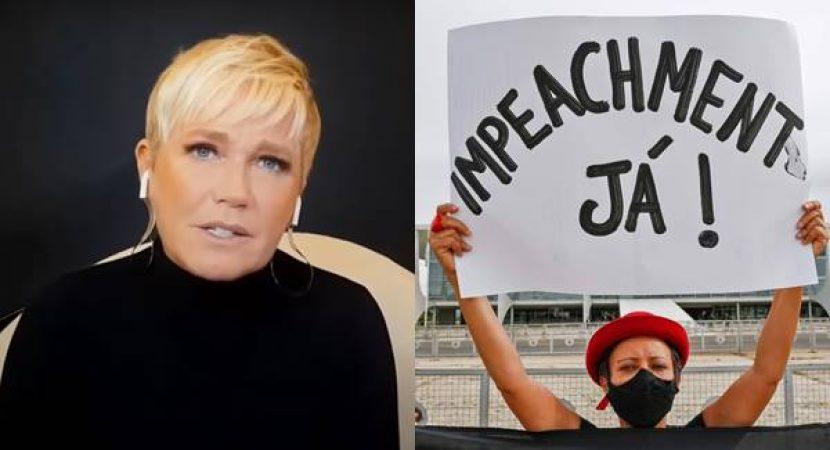 Xuxa pede impeachment de Bolsonaro