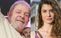 Alinne Moraes posta foto com Lula