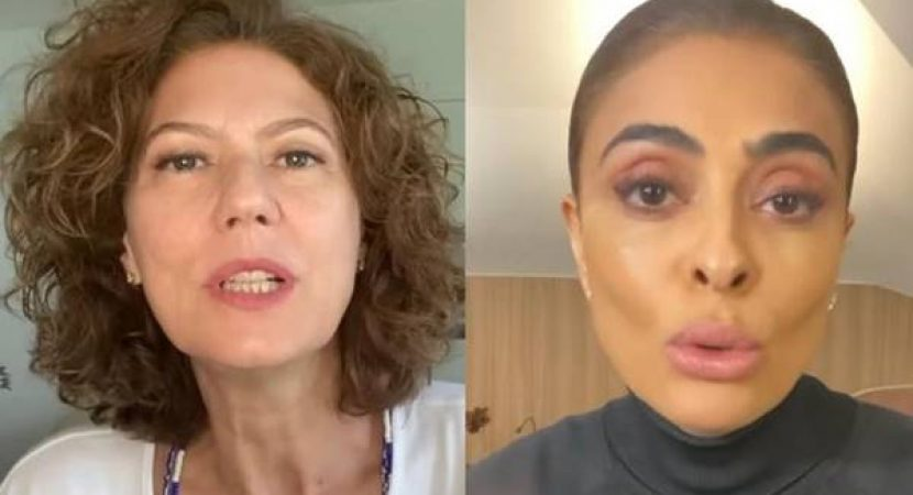 Patrícia Pillar confronta Juliana Paes