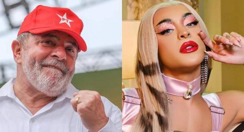 Pabllo Vittar declara apoio a Lula