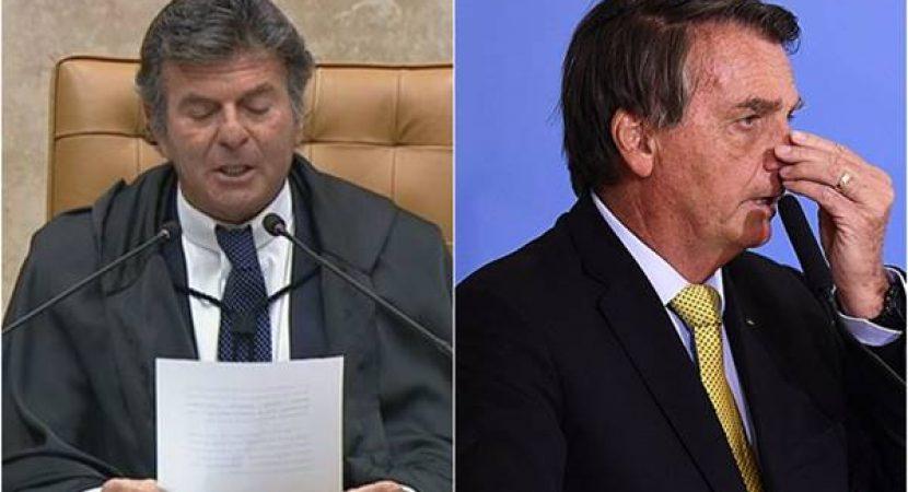 Fux promete prender Bolsonaro