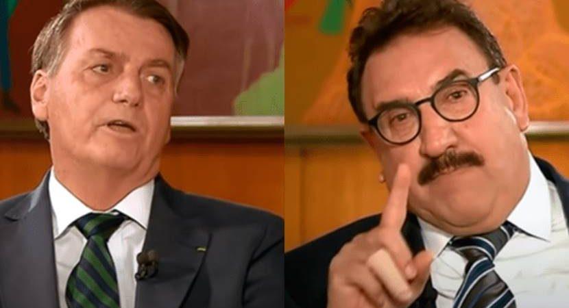 Ratinho entrevista Bolsonaro e fracassa na audiência