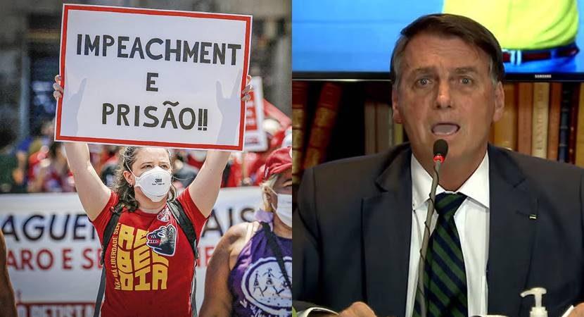 76% dos brasileiros querem impeachment de Bolsonaro