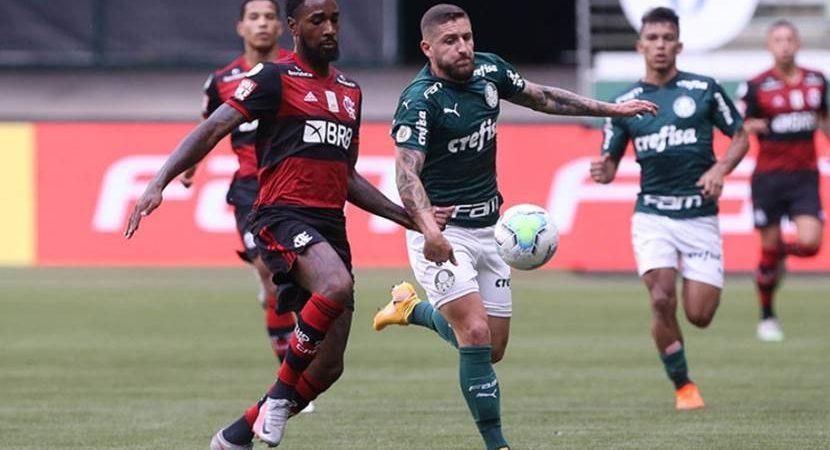 Palmeiras x Flamengo tem mais audiência que Domingão com Huck