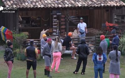 Video de Rico delegando as funções em A Fazenda